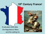 19 th century france