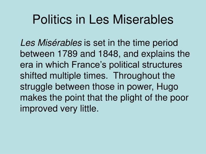 Politics in Les Miserables