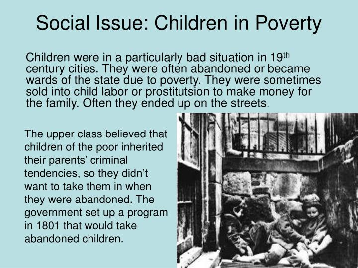 Social Issue: Children in Poverty
