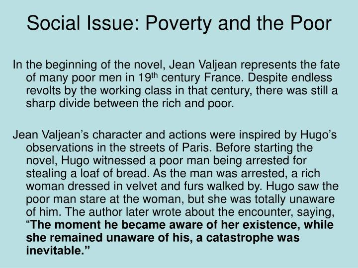 Social Issue: Poverty and the Poor