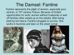 the damsel fantine