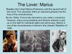the lover marius
