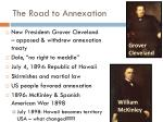 the road to annexation