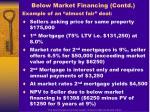 below market financing contd1