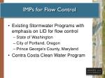 imps for flow control
