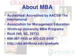 about mba1