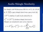 audio shingle similarity1