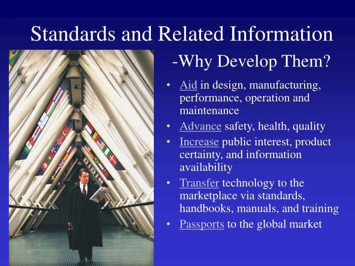 Standards and Related Information