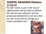 gospel reading matthew 21 23 32