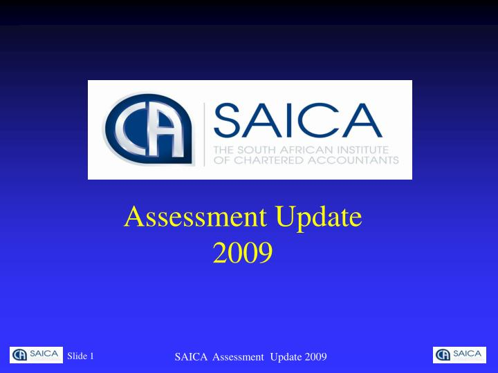 assessment update 2009 n.