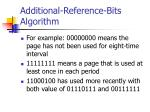 additional reference bits algorithm1