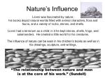 nature s influence