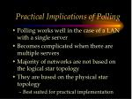 practical implications of polling