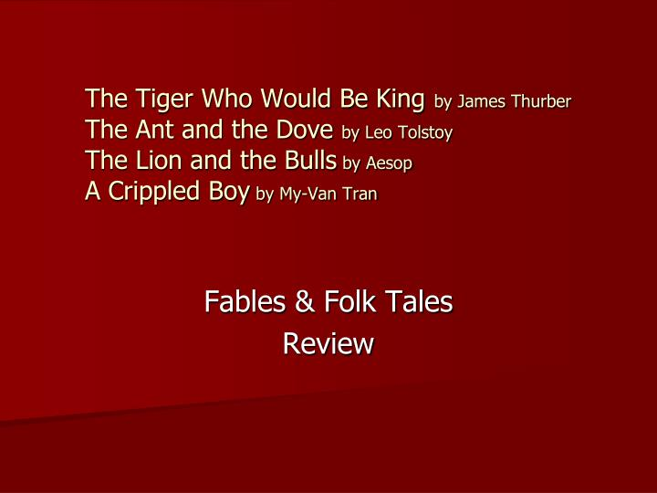 fables folk tales review n.