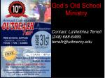god s old school ministry