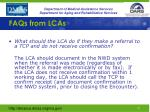 faqs from lcas4