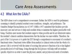 care area assessments1