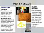 mds 3 0 manual24