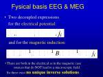 fysical basis eeg meg1
