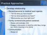practical approaches1