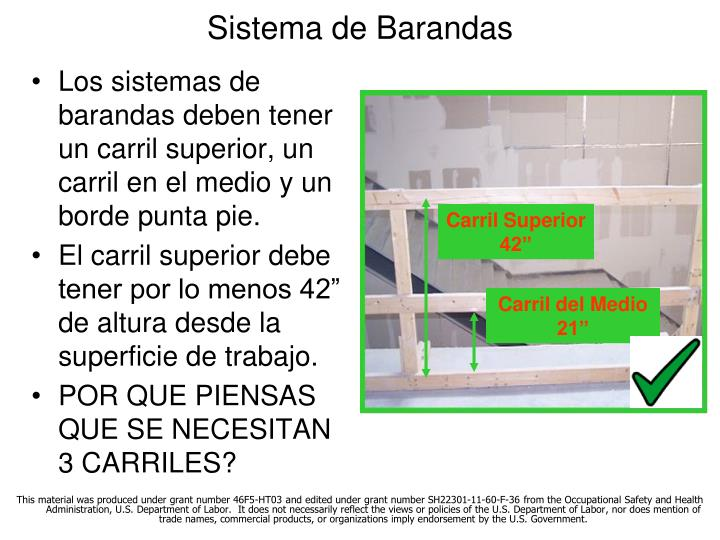 Sistema de Barandas