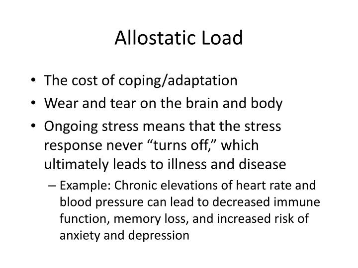 Allostatic Load