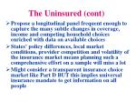 the uninsured cont