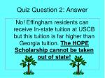 quiz question 2 answer
