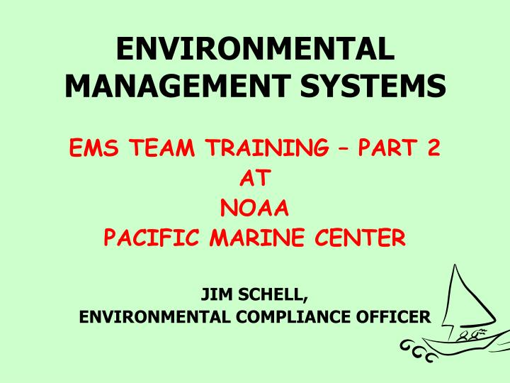 environmental management systems n.