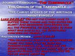 journey through the tabernacle the origin of the tabernacle2