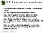 3 enforcement and surveillance
