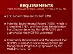 requirements prior to issuance of ssmc dao 2012 7 irr of eo no 79