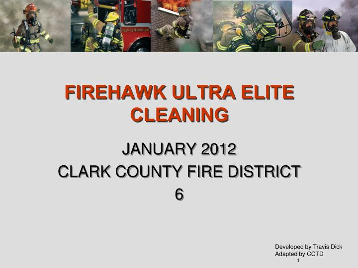 firehawk ultra elite cleaning n.