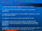 international agency egovernance funding activities undp case study