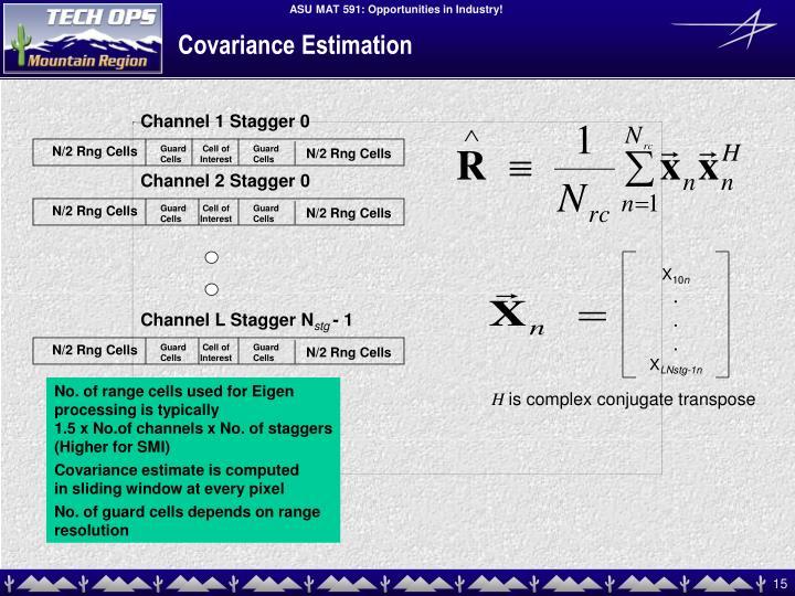 Covariance Estimation