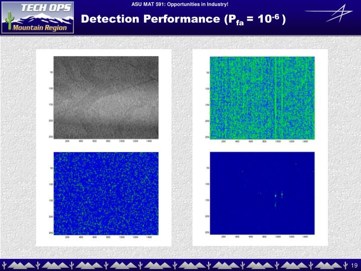 Detection Performance (P