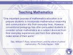 why a math initiative class2