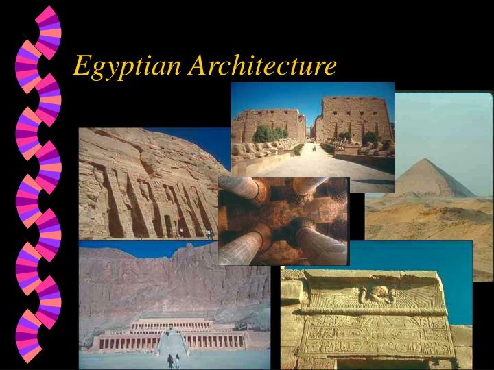 egyptian architecture n.