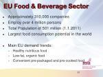 eu food beverage sector
