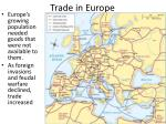 trade in europe