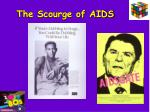 the scourge of aids