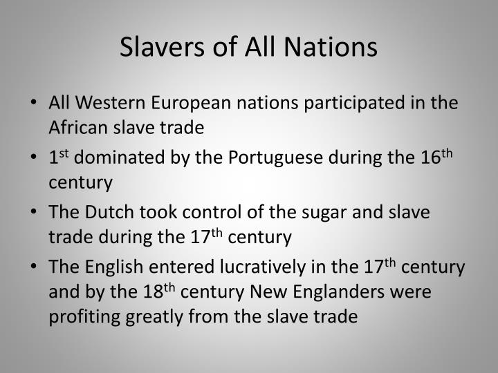 Slavers of All Nations