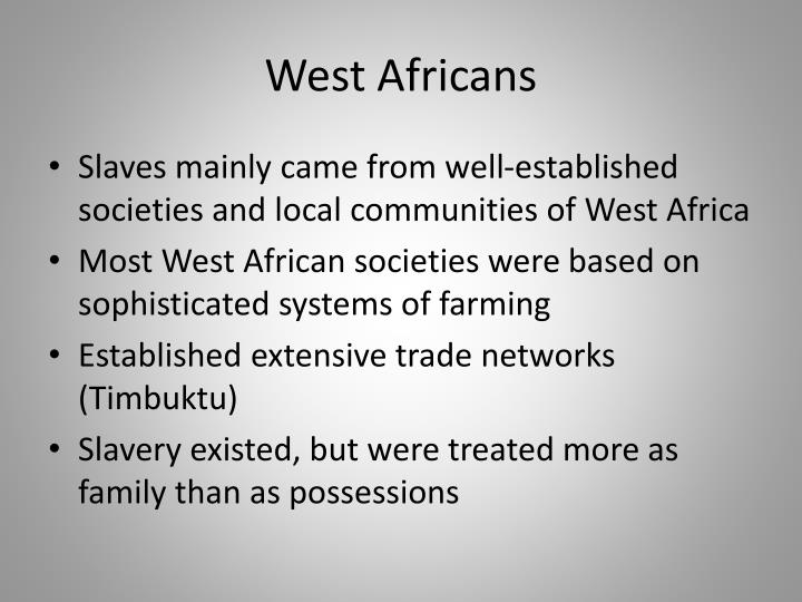 West Africans