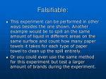 falsifiable