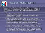 head of household 412