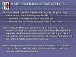 married filing separately 3