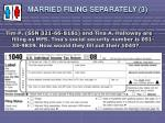 married filing separately 34
