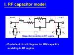 i rf capacitor model