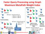 faster query processing using graph maximum metapath weight index