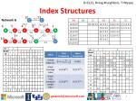 index structures